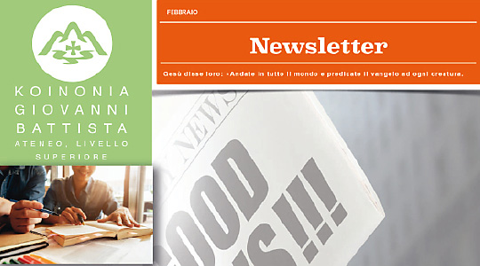 Newsletter Ateneo Livello Superiore